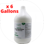 Hand Sanitizer 6 Gallons